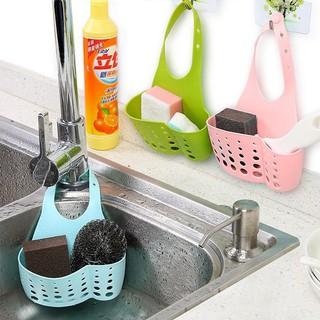 Giỏ treo đựng đồ bồn rửa bát bằng nhựa dẻo nguyên sinh (GD01) thumbnail
