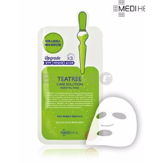 Lẻ 1 Miếng Mặt nạ Mediheal Teatree Care Solution Essential Mask Ex 25ml - 3588798 , 1244843218 , 322_1244843218 , 17200 , Le-1-Mieng-Mat-na-Mediheal-Teatree-Care-Solution-Essential-Mask-Ex-25ml-322_1244843218 , shopee.vn , Lẻ 1 Miếng Mặt nạ Mediheal Teatree Care Solution Essential Mask Ex 25ml
