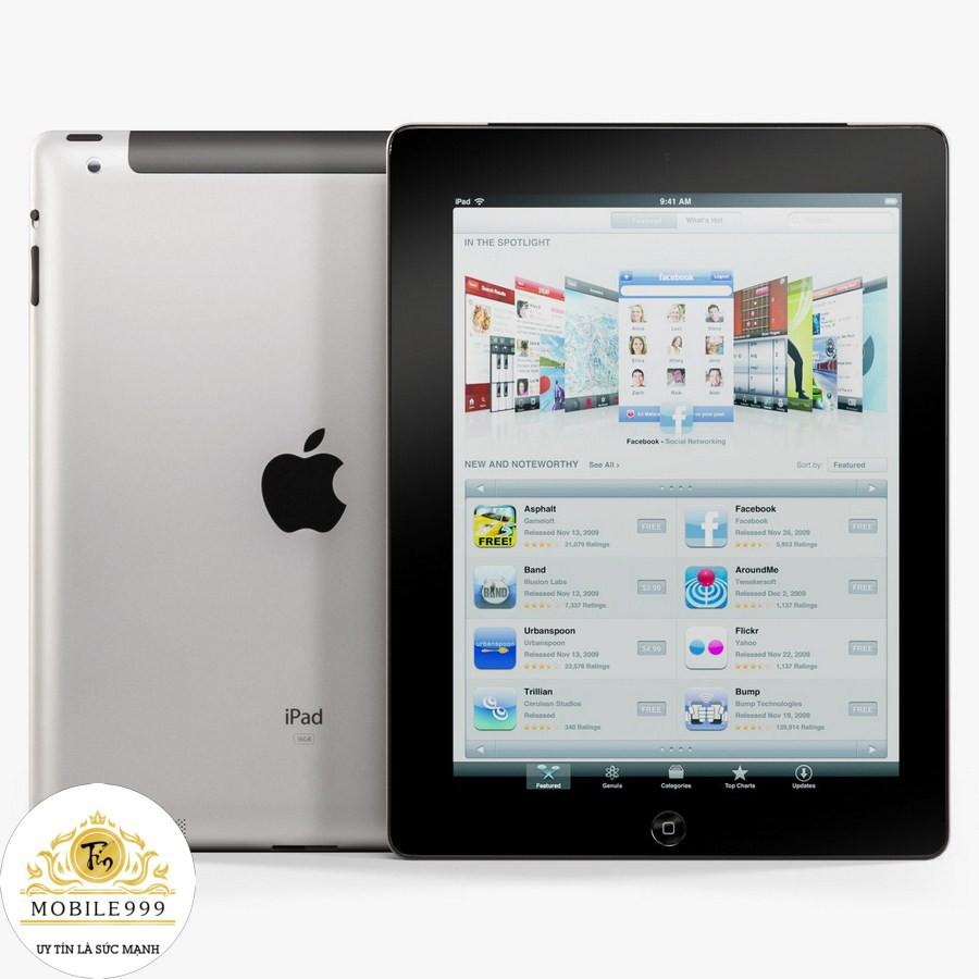 iPad 2 - 16G /32G /64GB (Wifi + 3G) Zin Đẹp 99%- Tặng Bao Da