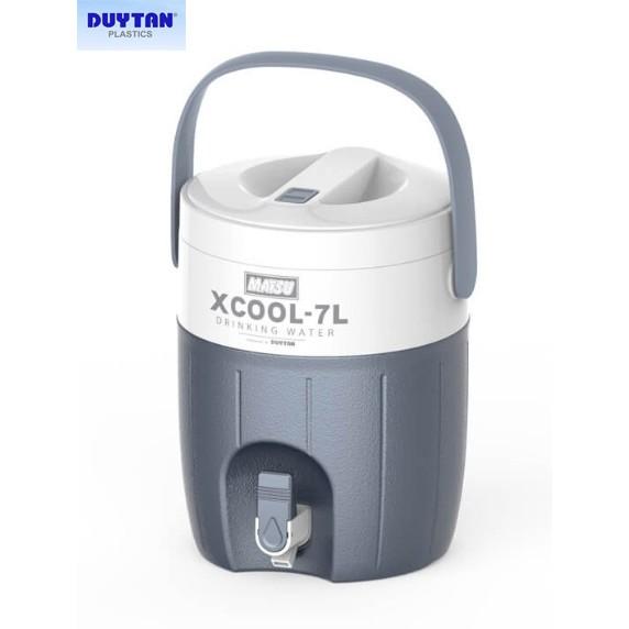 Bình đá Matsu Duy Tân Xcool 7L có vòi giữ lạnh 36h (Có hình thật sản phẩm)