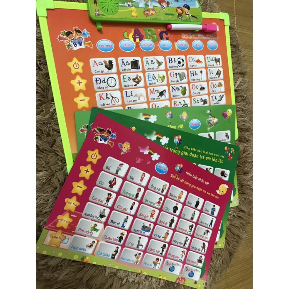 Bảng điện tử thông minh nhiều chủ đề,Bảng học chữ cái đa năng