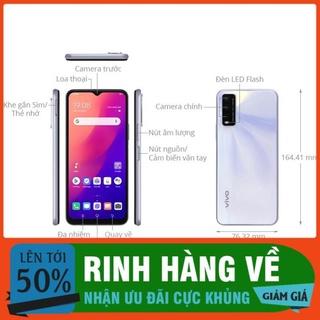 [ Free Ship -Hàng REAL ] Điện thoại Vivo Y20 (2021) 4GB + 64GB thumbnail