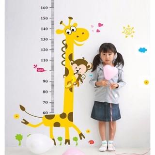 Thước đo chiều cao dán tường cho bé