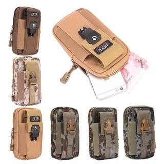 Túi đeo hông, túi đeo thắt lưng quân đội, chống nước tiện dụng có ngăn để điện thoại (JBYD)