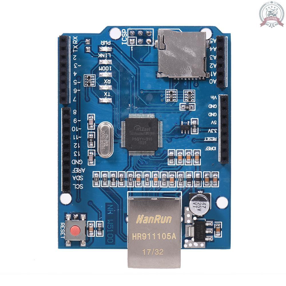 Bảng Mạch Mở Rộng Mạng Ethernet J & F W5100 Cho Arduino Uno Me