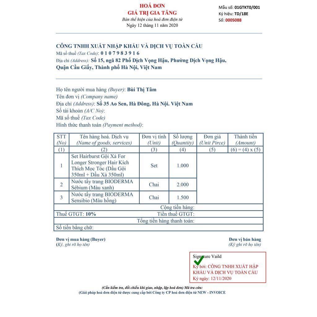 Nước Tẩy Trang BIODERMA (Date 2023) , Mini Size 100ml , Full Size 500ml [CHÍNH - HÃNG]