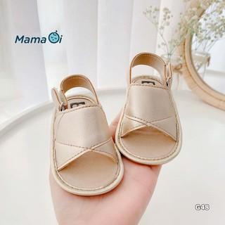 Giày sandal đến nhựa màu da dễ mang cho bé tập đi của Mama Ơi - Thời trang cho bé