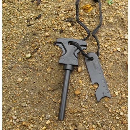 Dụng cụ sinh tồn đánh lửa V2, bỏ túi đơn giản và dễ sử dụng