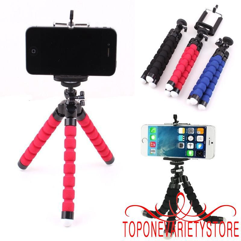 ♀New Mini Tripod Stand Mount Grip Holder Mount Mobile Phones Cameras Gadgets