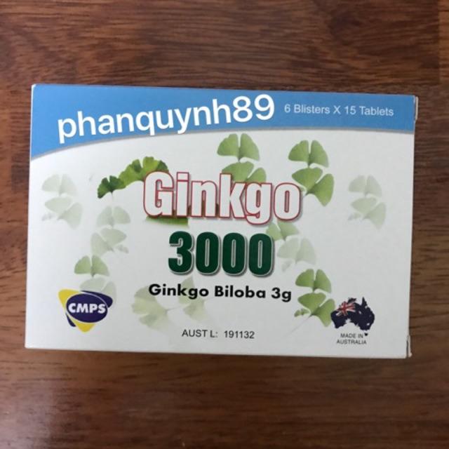 Ginkgo 3000 - Bổ não hoạt huyết - 2646189 , 1097938330 , 322_1097938330 , 450000 , Ginkgo-3000-Bo-nao-hoat-huyet-322_1097938330 , shopee.vn , Ginkgo 3000 - Bổ não hoạt huyết