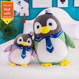Búp bê chim cánh cụt dễ thương búp bê đồ chơi sang trọng kích thước búp bê ngủ gối con gái quà tặng trẻ em