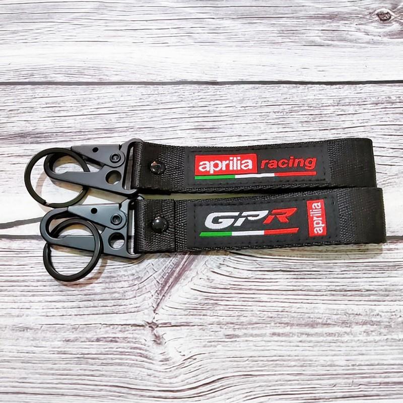 Móc khoá cho các hãng xe Agv Benelli GPR Ducati... móc bằng thép không gỉ, logo vải thêu