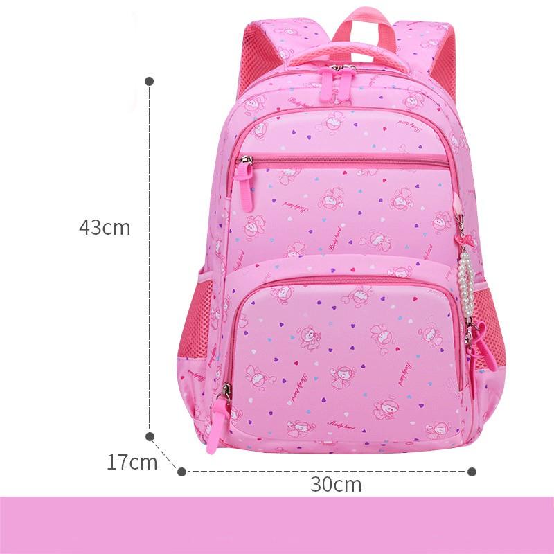 [LỚP 3-9] Balo đi học cho bé gái nhiều ngăn mẫu mới hot của năm, ba lô cặp sách học sinh cấp 1,2 tiểu học trung học