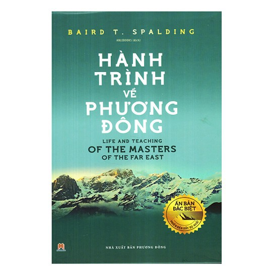 Sách - Hành Trình Về Phương Đông (Ấn Bản Đặc Biệt)