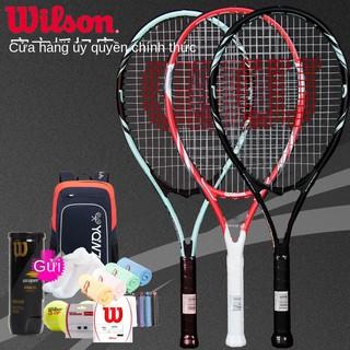 WILSON Vợt tennis tổng hợp carbon dành cho sinh viên WILSON Wilson cho người mới bắt đầu sử dụng vợt hấp thụ sốc nhẹ Huấ thumbnail