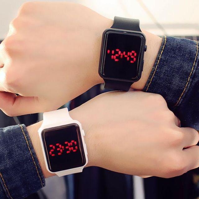 Xả kho-Đồng hồ Led thời trang Nam Nữ xem ngày, giờ