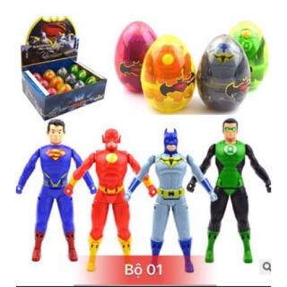 COMBO SỈ – hộp 12 quả trứng biến hình, trứng lắp ráp