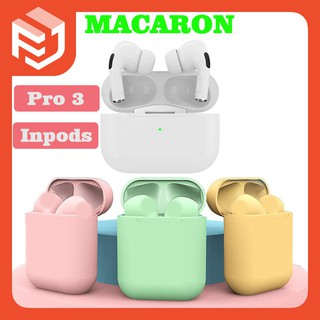 Inpods Pro Macaron inpod12 Bluetooth v5.0 TWS in-ear bluetooth earphone wireless for Apple Samsung Xiaomi Vivo Oppo