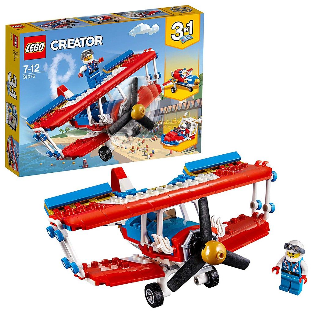 LEGO CREATOR Phi Cơ Diễu Hành 31076