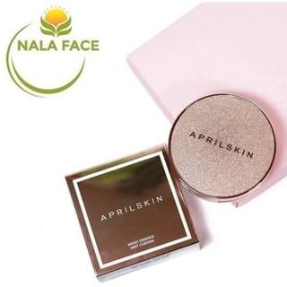 Phấn Nước Che Phủ Hoàn Hảo, Cho Làn Da Mịn Màng April Skin Magic Essence Mist Cushion SPF50+ PA++++ 13g thumbnail