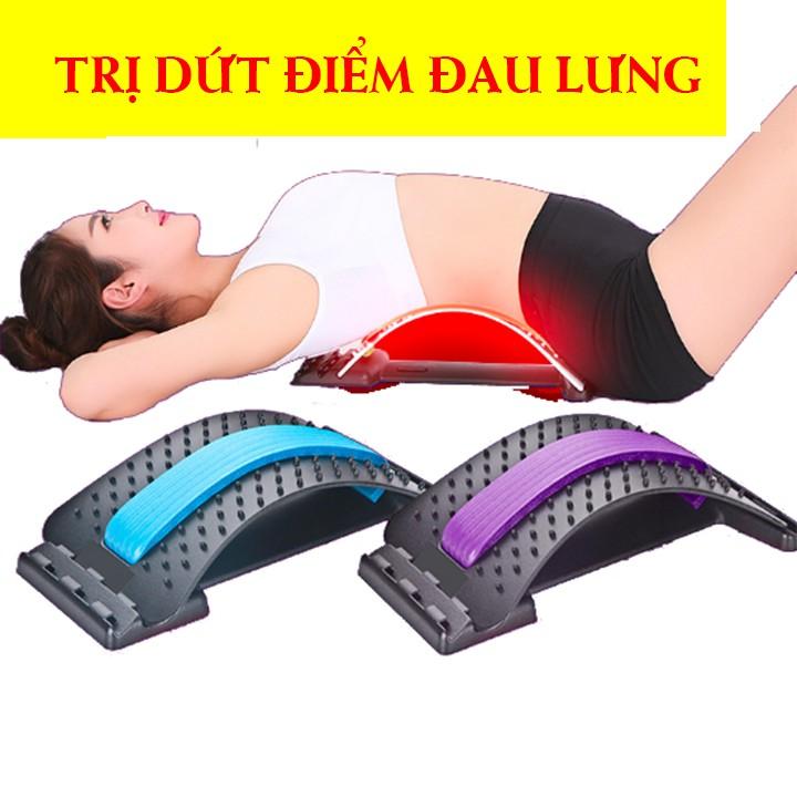 Khung Nắn Chỉnh Hình Massage Cột Sống Lưng Trị Đau, Thoát Vị Điều Trị Thoái Hóa Cột