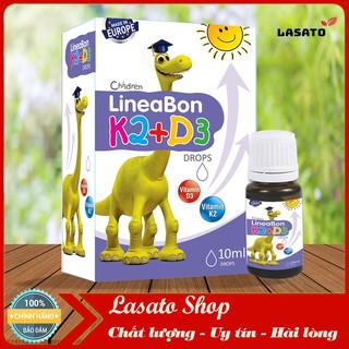 [Kèm Quà Tặng] LineaBon K2+D3 – Bổ sung vitamin K2, D3. Tăng cường hấp thu canxi tối đa (Lọ 10ml)
