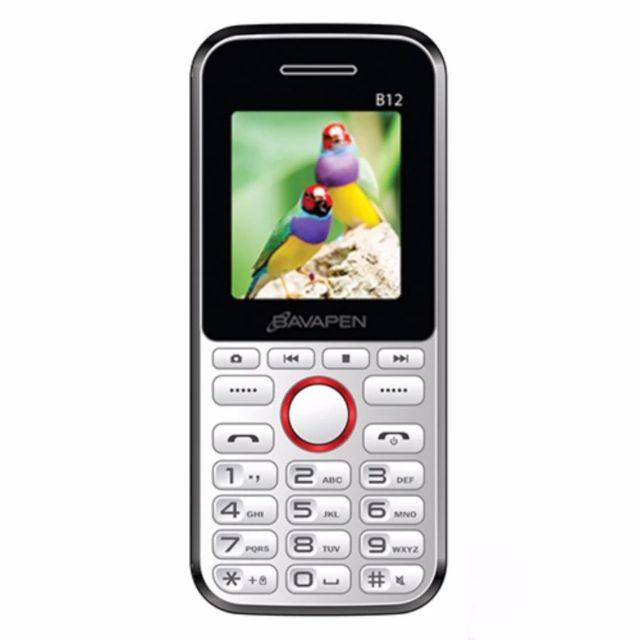 Điện thoại Bavapen B12 pin trâu chữ to nghe fm,nghe nhạc 2 sim bảo hành 12 tháng
