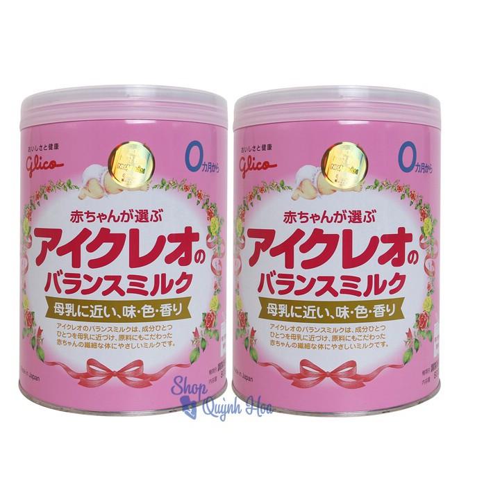 Combo 2 hộp Sữa Glico số 0, 800g (hàng nhập