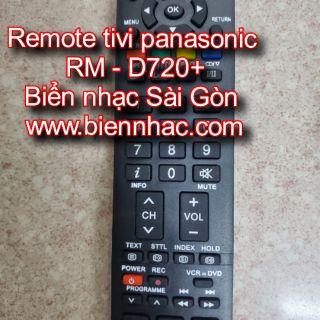 Điều khiển - remote tivi Panasonic RM D720+