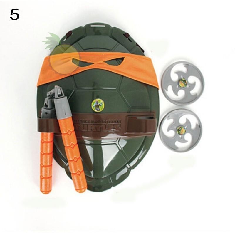 Teenage Mutant Ninja Turtles Weapons Toys TMNT Turtles Armor Shell Toy Movie Toys Kids Brinquedos Birthday Gifts