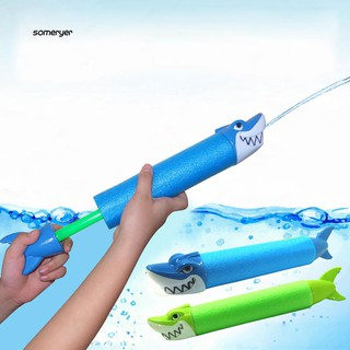 SMYR_Summer Water Gun Outdoor Game Kids Swimming Pool Shark Crocodile Squirter Toy
