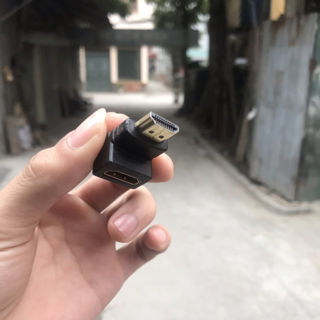 Đầu HDMI bẻ góc 90 độ