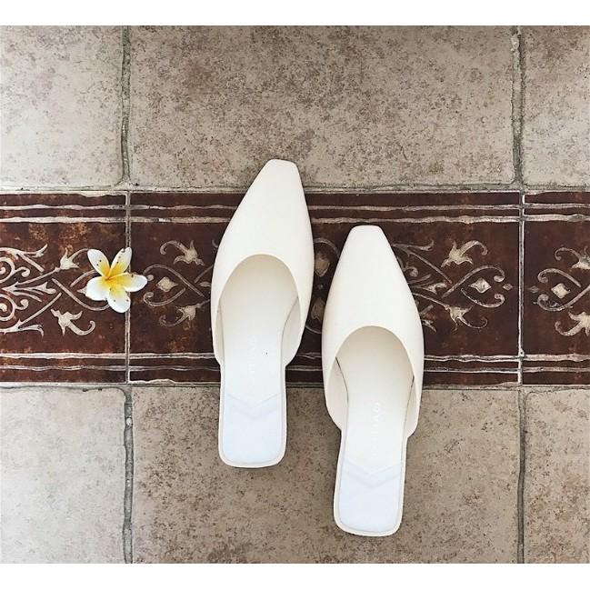 [Mã WSTOPT9 hoàn 30K xu đơn từ 150K] FREESHIP 99K TOÀN QUỐC_Dép Mules nữ Sunnie Shoes SNVNM01
