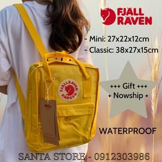 Balo mini Kanken thời trang nhiều màu Đựng đồ du lịch, đi chơi Vải chống nước, logo phản quang Freeship Extra thumbnail