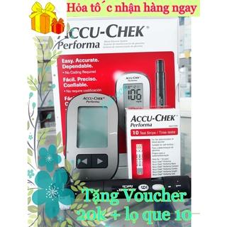 Máy đo đường huyết Accu-Chek Performa Tặng Kèm 10 Que + 6 kim thử - Công nghệ từ Đức - Hàng chính thumbnail