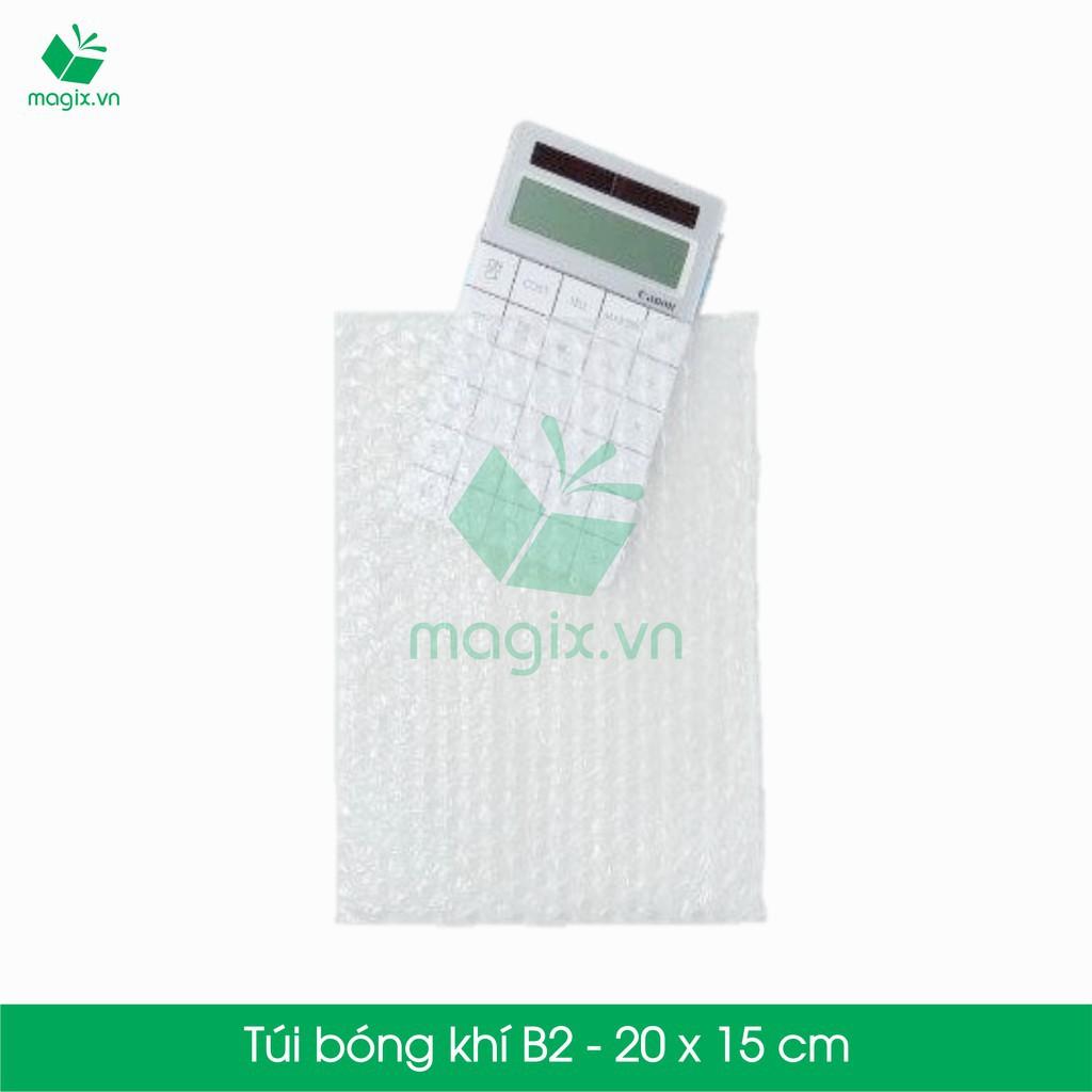 50 TÚI BONG BÓNG KHÍ - TÚI XỐP HƠI - Mã B2 - 20CM X 15CM  shop khobansilc