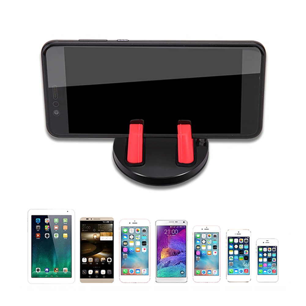 Rotatable Soft Silicone Anti Slip Mat Mount Stands Car Phone Holder