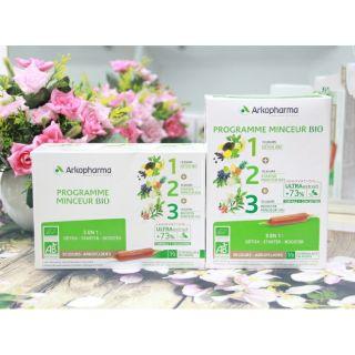 Detox Giảm Cân Arkopharma Programme Minceur 1+2+3 hỗ trợ giảm cân nhanh thumbnail