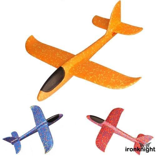✪B-BEPP Foam Hand Throw Airplane Outdoor Launch Glider Plane Kids Toy Gift Popular