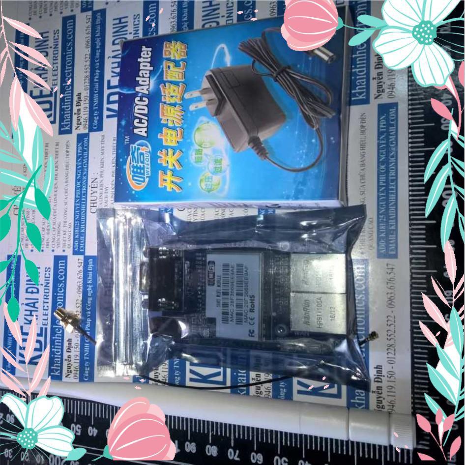 [CỰC HOT] KIT Wifi Enthernet HLK-RM04 full phụ kiện, module nhà thông minh KDE0480 CỰC HOT.