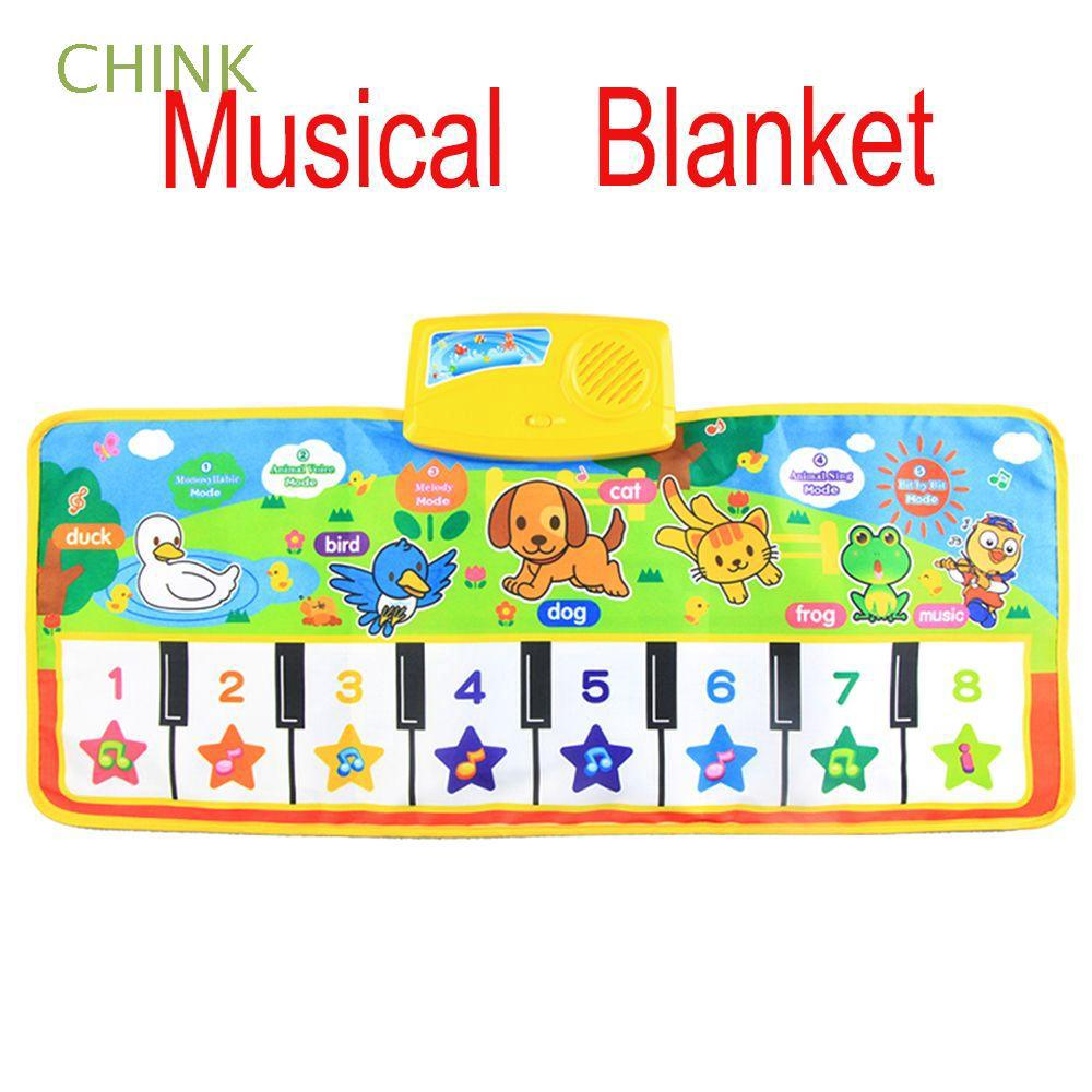 Educational Funny Toddler Toy Baby Gift Children Music Blanket