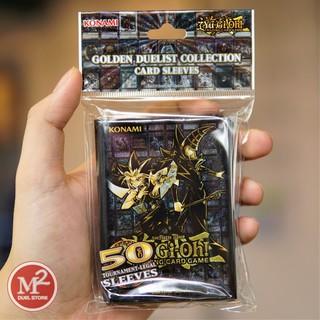 Bọc thẻ bài yugioh Golden Duelist Sleeve do Konami sản xuất – Hàng chính hãng USA VTool Set
