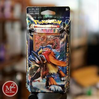 Hộp thẻ bài Sun & Moon Lost Thunder Theme Deck – Blazing Volcano – Hàng chính hãng nhập khẩu USA