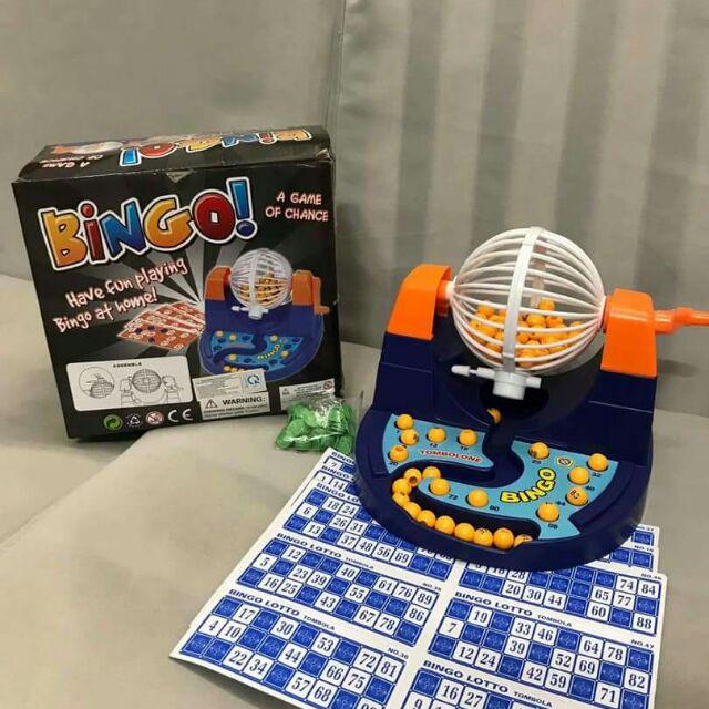 Bộ đồ chơi lô tô Bingo cho bé và cả nhà 90 số và 48 card