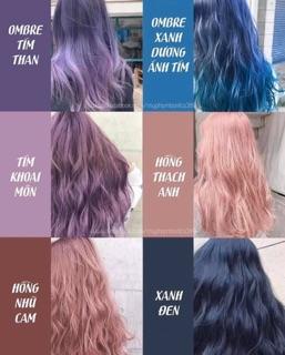 [SALE 20%] Thuốc nhuộm tóc Hàn quốc màu thời trang (GHI CHÚ MÀU MUA) thumbnail