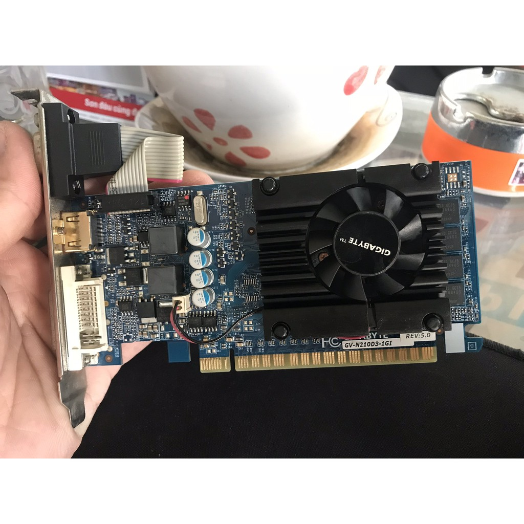 VGA Gigabyte N210 Ver 5.0 1GB/DDR3/128BIT ( like new) - 2422452 , 850316244 , 322_850316244 , 190000 , VGA-Gigabyte-N210-Ver-5.0-1GB-DDR3-128BIT-like-new-322_850316244 , shopee.vn , VGA Gigabyte N210 Ver 5.0 1GB/DDR3/128BIT ( like new)