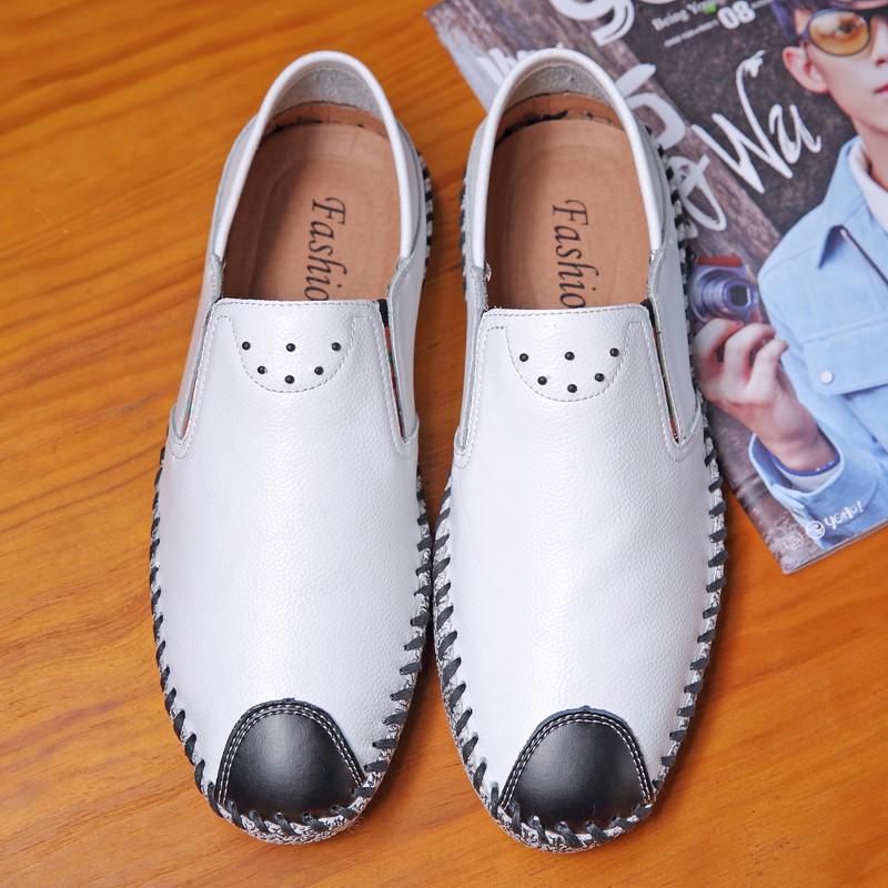 11.11 free Đàn ông da mềm sang trọng Vintage Giày mùa hè Trượt trên Loafer uy tín Uy Tín 2020 Az1 x ' ! ' ` ⁹ P ;