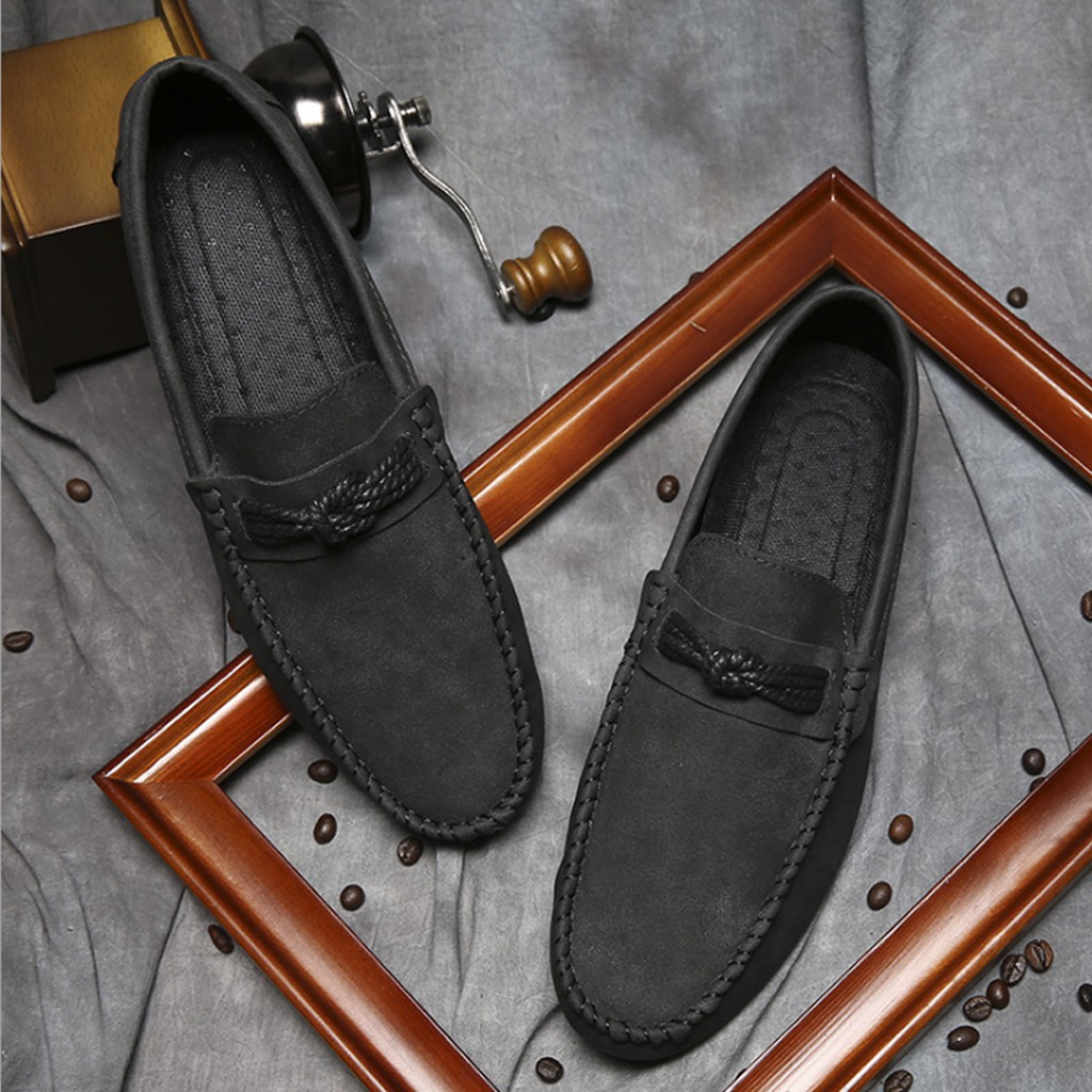 Giày Lười Da Nam Cao Cấp GL010 [Hàng Sẵn & Order]