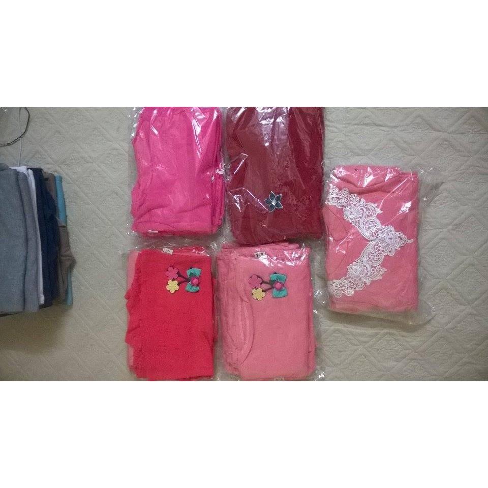 Áo cotton cổ 3 phân bé gái nhí 1-5 Tuổi