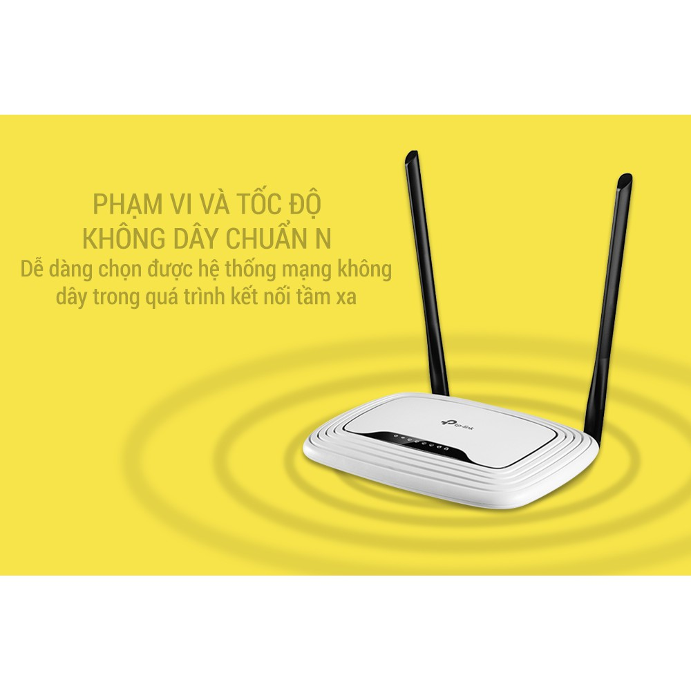 FreeshipRouter Wifi TP-Link WR841N (300Mbp) BH: 24 Tháng